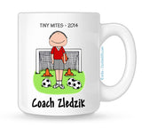 Soccer Coach Mug Male - Personalized