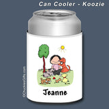 Dog Lover Can Cooler Female Personalized
