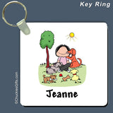 Dog Lover Key Ring Female Personalized