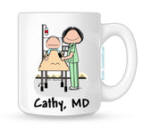 Personalized Recovery Nurse Mug Female