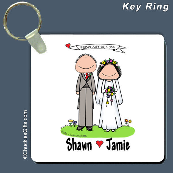 Wedding Key Ring | Value Collection