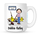 Custodian Mug Female - Personalized