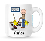 Custodian Mug Male - Personalized