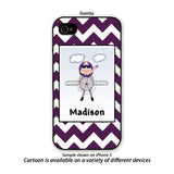 Pilot Phone Case Female - Personalized