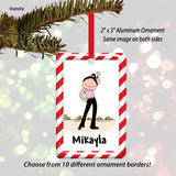 Dancer Ornament - Personalized