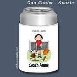 PE Teacher Can Cooler Female Personalized