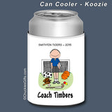 PE Teacher Can Cooler Male Personalized