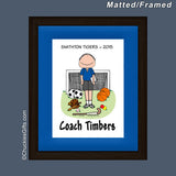 PE Teacher Mat/Frame Male Personalized