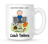PE Teacher Mug Male - Personalized