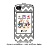 Speech Therapist Phone Case Male - Personalized
