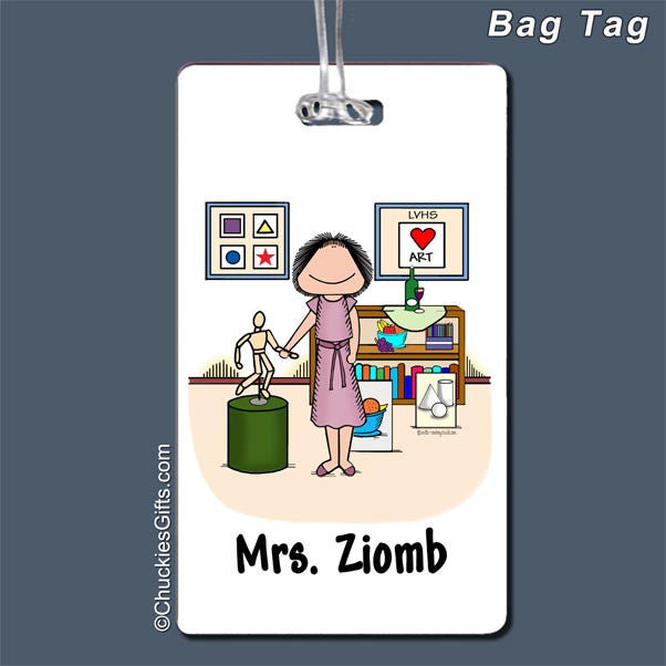 Art Teacher Bag Tag | Value Collection