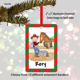Horse Lover Ornament Male - Personalized