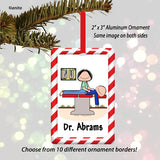 Chiropractor Ornament Female - Personalized