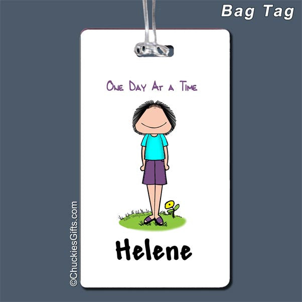 One Day At a Time Bag Tag | Value Collection