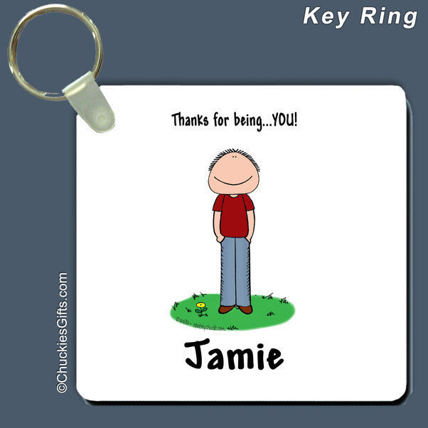 Thanks for Being You Key Ring | Value Collection