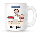 Acupuncturist Mug Female Personalized