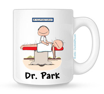 Acupuncturist Mug Male Personalized