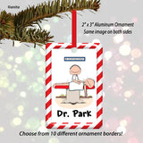 Acupuncturist Ornament Male - Personalized