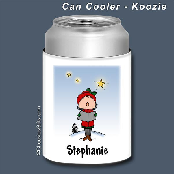 Carolers Can Cooler Female - Personalized 2473