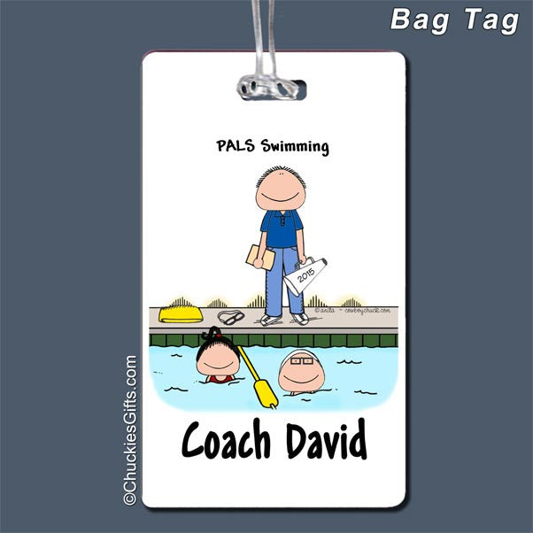 Swim Coach Bag Tag | Value Collection