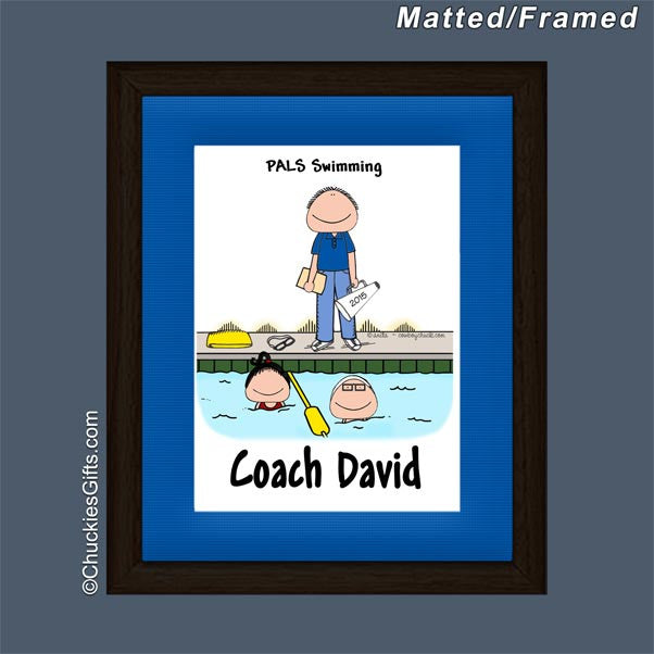 Swim Coach Mat/Frame | Value Collection