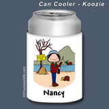 Hunter Can Cooler Female Personalized