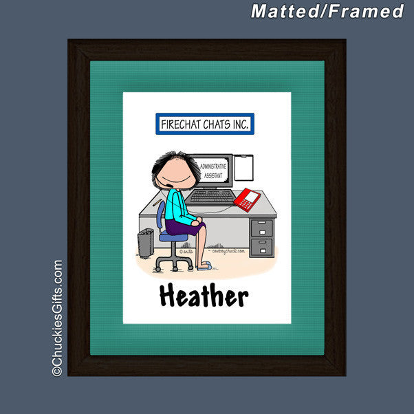 Receptionist Mat/Frame  | Value Collection