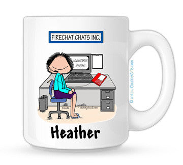 Receptionist Mug Female Personalized