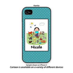 Animal Lover Phone Case - Female Personalized