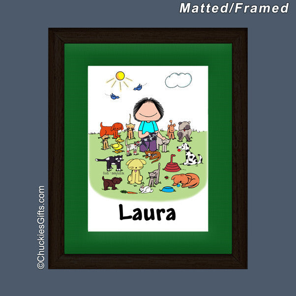 Animal Lover Mat/Frame | Value Collection