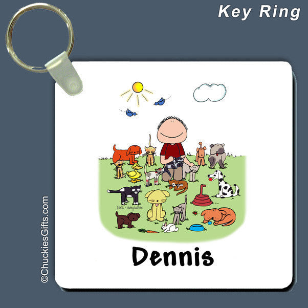 Animal Lover Key Ring | Value Collection