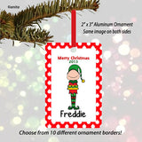 Elf Male Personalized Ornament