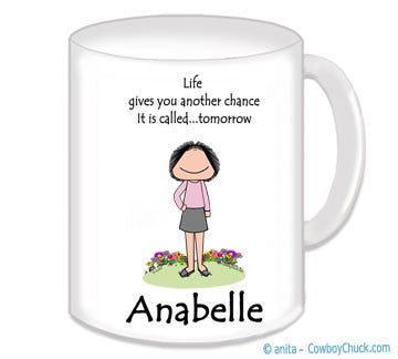 Life Mug Female - Personalized 3017