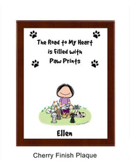Paw Prints - Cats Plaque