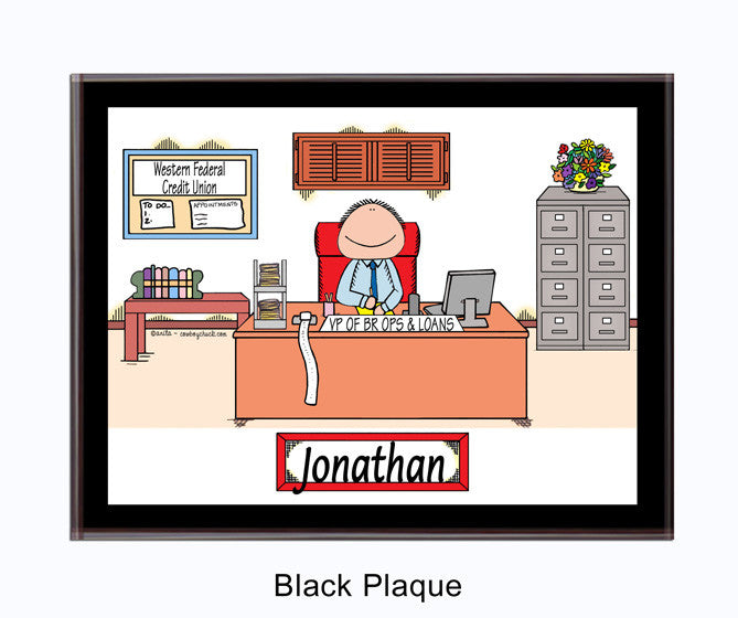 Businessman Plaque
