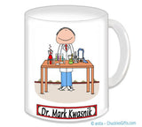 8026 Lab Worker Mug Male - Personalized