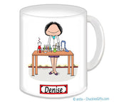 8027 Lab Worker Mug Female - Personalized