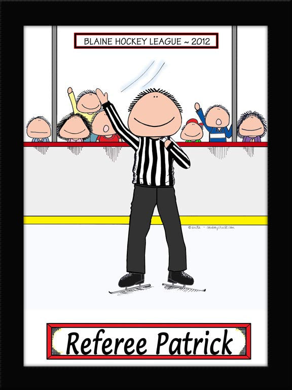 Hockey Referee Cartoon Picture