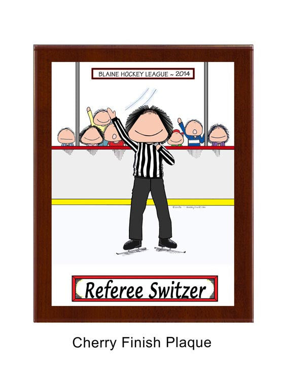 Hockey Referee Plaque