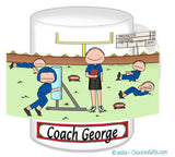 Football Coach Mug - Personalized