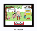 Grandpa Plaque Female - Personalized 8052