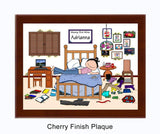 Messy But Mine Plaque Female - Personalized 8069