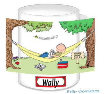 Retirement Mug Male - Personalized