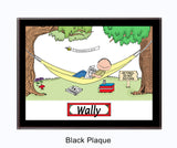Retirement Plaque  Male - Personalized