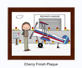 Pilot Plaque Female - Personalized