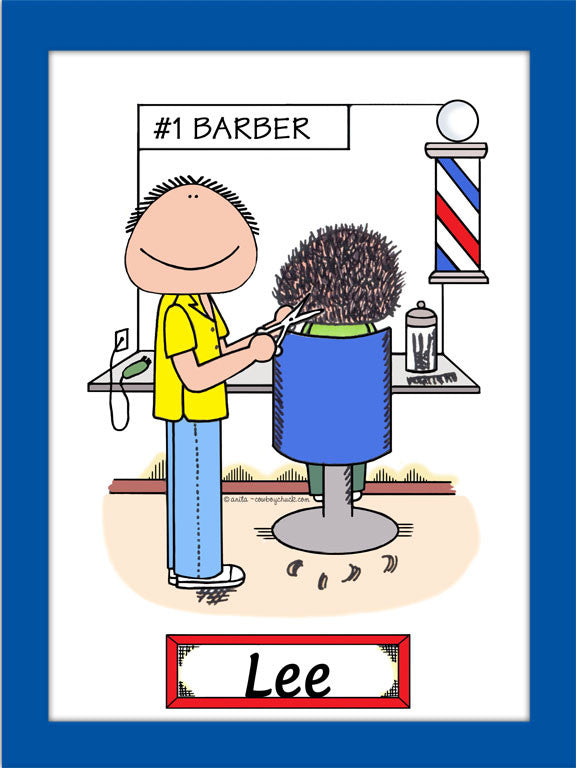 Barber Cartoon Picture