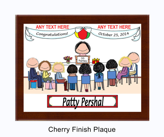 Special Day Plaque - Female Personalzied