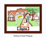 Realtor Plaque Female - Personalized