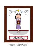 8149 Bat Mitzvah Plaque Female - Personalized