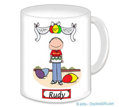 Birthday Mug - Male Personalized